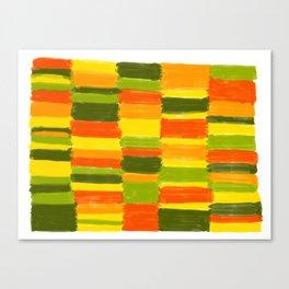 Fresh Colours No 1 Canvas Print