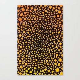 Big Bang Squares Canvas Print