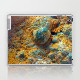 Bubbly Turquoise with Rusty Dust Laptop & iPad Skin