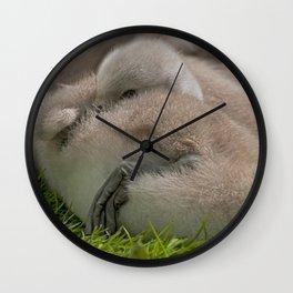 Sleepy Head Wall Clock