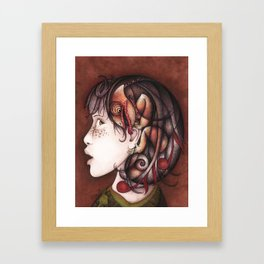 Inside voice Framed Art Print