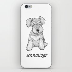 Dog Breeds: Schnauzer iPhone & iPod Skin