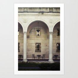 Boston Public Art Print