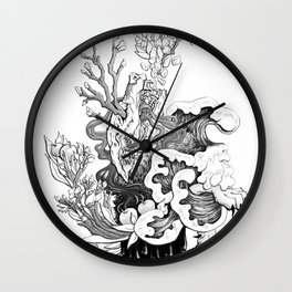 Fairytale : The Devourer Wall Clock