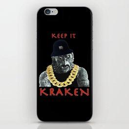 KEEP IT KRAKEN iPhone Skin
