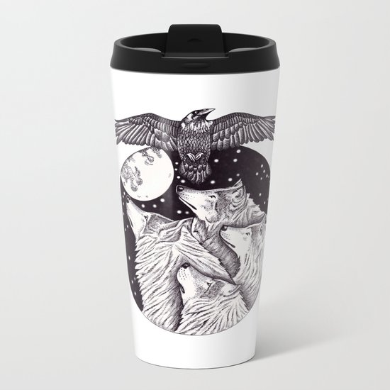 Catch The Moon Metal Travel Mug