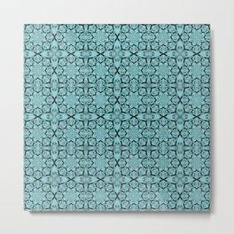 Island Paradise Geometric Metal Print