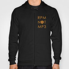 RPM NOT MP3 - Orange Hoody