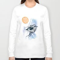 freedom Long Sleeve T-shirts featuring Freedom by Cemile Pecquet