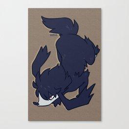 PRESS START-  Furfrou Canvas Print
