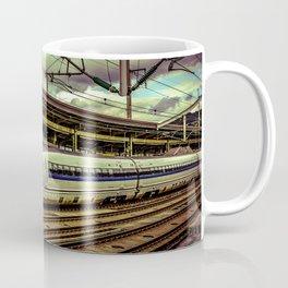 Fast Speed Train, Osaka, Japan Coffee Mug