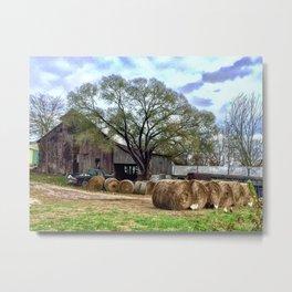 Missouri farm Metal Print