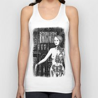 industrial Tank Tops featuring Industrial Aesthetics by Michael Brack