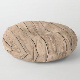 Wood I Floor Pillow