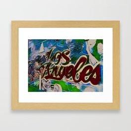 BIG LA Framed Art Print