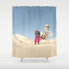 the dromedary Shower Curtain