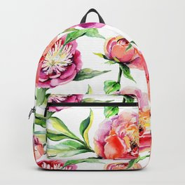 Summer Peonies Backpack