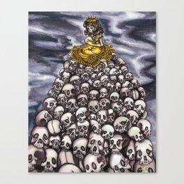 Queen of Head  Canvas Print