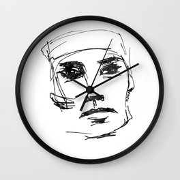 him #2 Wall Clock