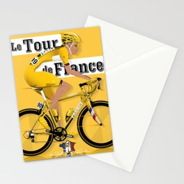 Tour De France cycling grand tour Stationery Cards