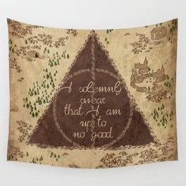Marauder's Map - I Solemnly Swear Wall Tapestry
