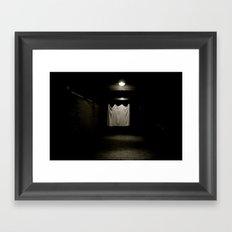 Lonely Sheet Framed Art Print