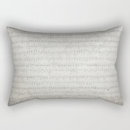 "MUSIC by collection ""Music"" Rectangular Pillow"