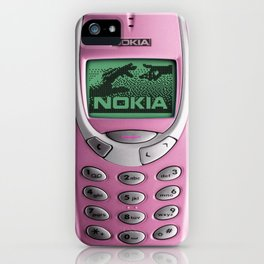 OLD NOKIA Pink iPhone Case