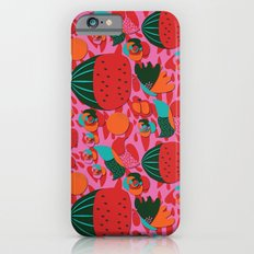 Watermelons and butterflies Slim Case iPhone 6s