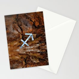 Fine Zodiac / Sagittarius Stationery Cards