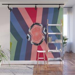 CC No.5 Pinwheel 2 Wall Mural