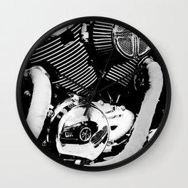 Motor Reflections Wall Clock
