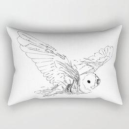 Owl Rot Rectangular Pillow
