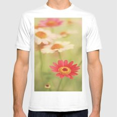 Daisy Love Mens Fitted Tee White MEDIUM