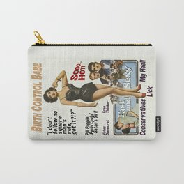 Birth Control Babe Carry-All Pouch