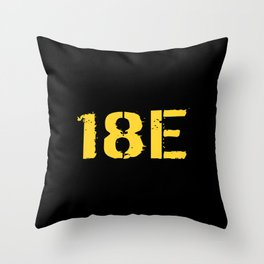 18E Special Forces Communications Throw Pillow