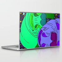 sleep Laptop & iPad Skins featuring Sleep by Madame Mim