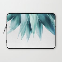 Agave geo fringe - teal Laptop Sleeve