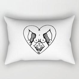 Body Heart Rectangular Pillow