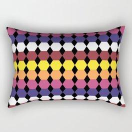 Colorbars Rectangular Pillow