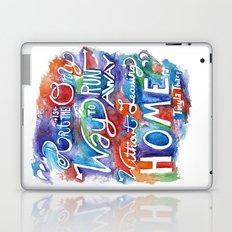 Run Away Laptop & iPad Skin