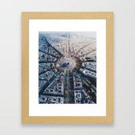 Arc De Triomphe, Paris Framed Art Print