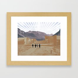 Western Framed Art Print