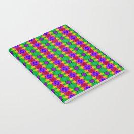 Traditional pattern dark Notebook