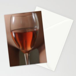 Red Red Wine Stationery Cards