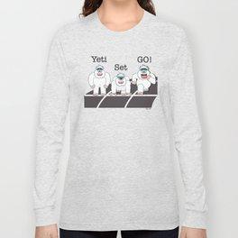 Yeti Set Go Long Sleeve T-shirt