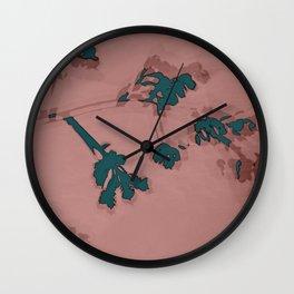 2020 Fall/Winter 02 Rose Wall Clock