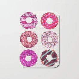 Half Dozen Donuts – Magenta Palette Bath Mat