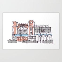 The Ritzy Brixton Art Print