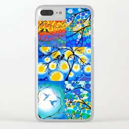 Trees of Life Clear iPhone Case